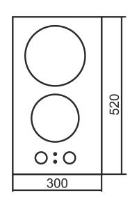 Варочная поверхность ORE CA30