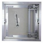 Люк под плитку Ore AL-KR 100/40 алюминиевый