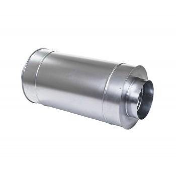 Шумоглушитель оцинк. d160х600мм