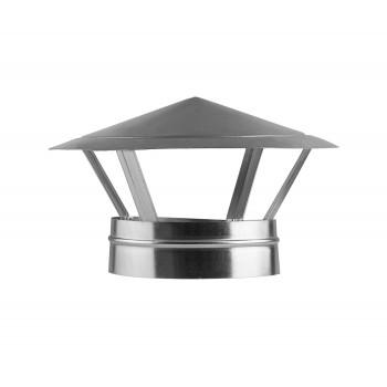 Зонт крышный оцинкованный d100