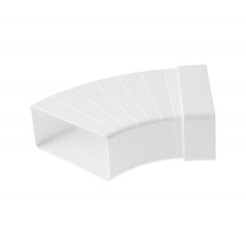 Колено плоское разноугловое горизонтальное ORE 55х110
