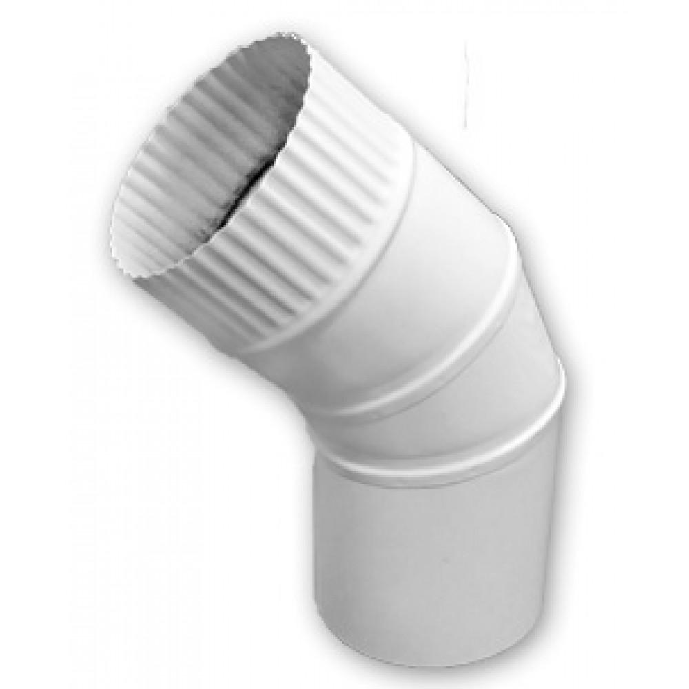 Отвод стальной для воздуховода 110 45°