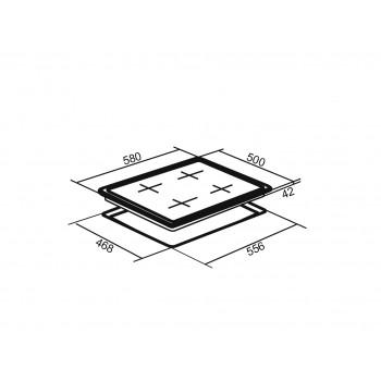 Варочная панель ORE LGA60