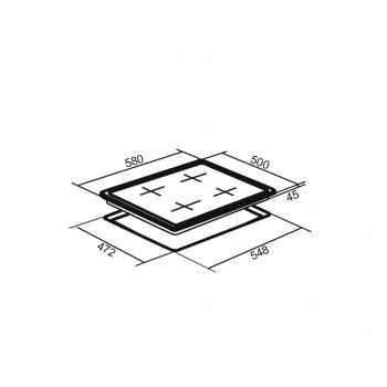 Варочная панель ORE LGA60W