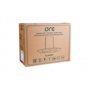 Кухонная вытяжка ORE Glasset 60 Inox